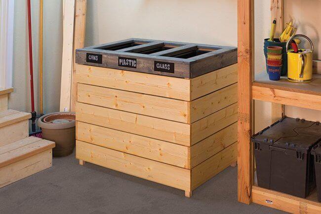 Recycling Sorting Bin