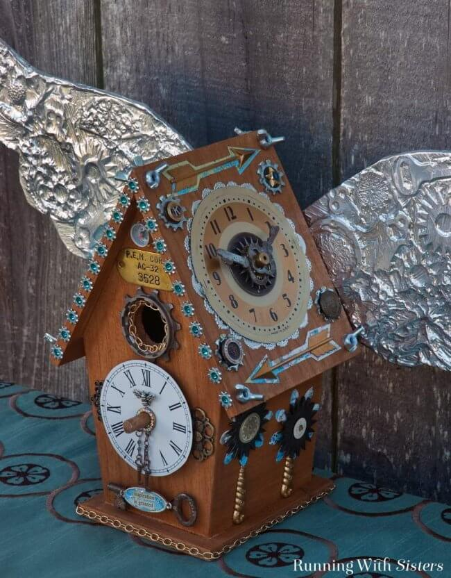 Steampunk Birdhouse