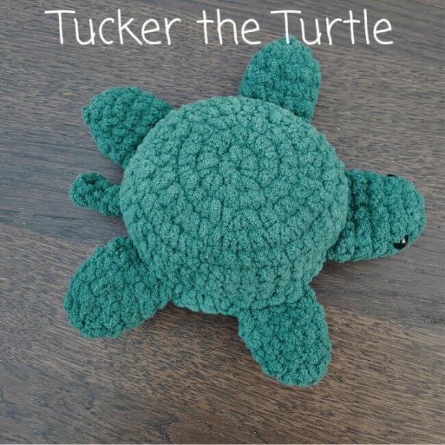 Tucker the Turtle Amigurumi Free Pattern
