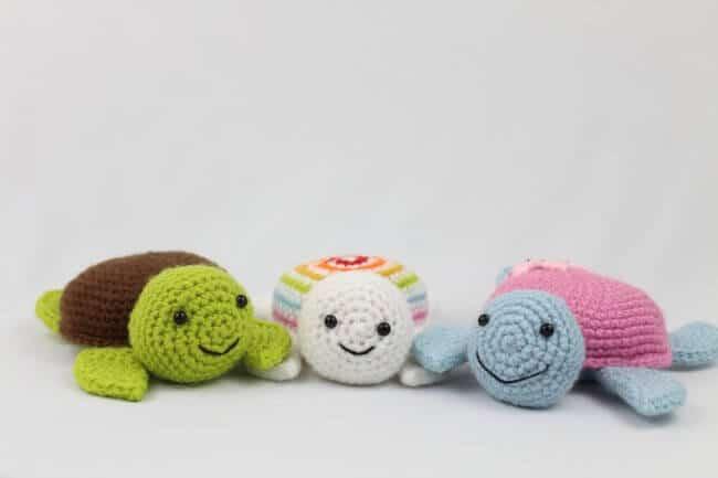Turtle Amigurumi – Free Crochet Pattern