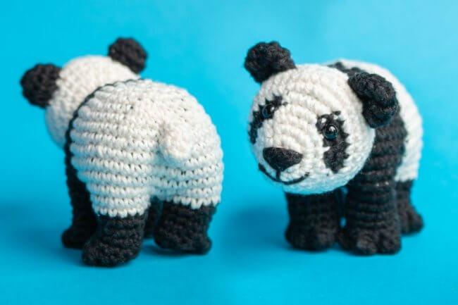 Amigurumi Panda Free Crochet Pattern