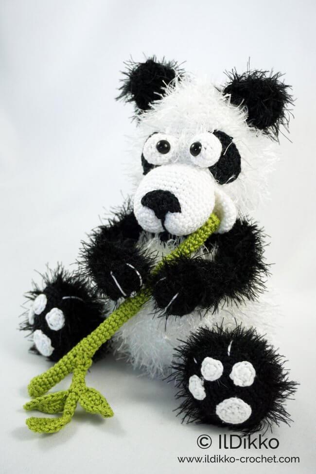 Amigurumi Pattern - Pangu the Panda