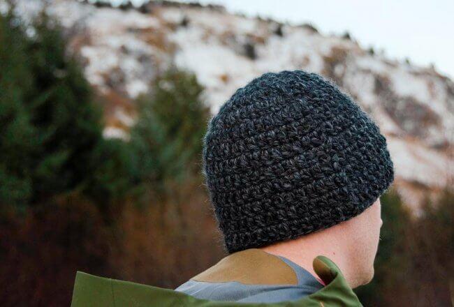 Crochet Beanie Pattern | Single Cast Beanie