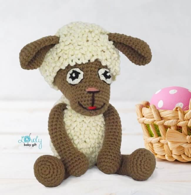 Crochet lamb / sheep amigurumi tutorial