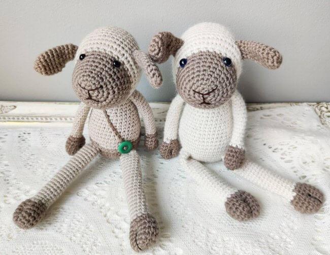 Cute Crochet Lamb Pattern