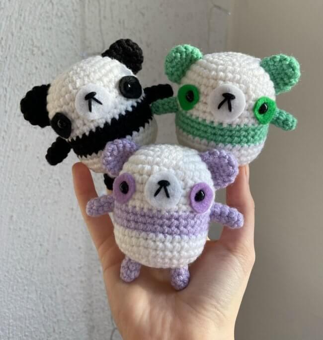 Cute Panda Crochet Pattern