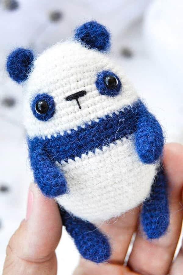 Easy Little Panda Amigurumi Crochet Pattern