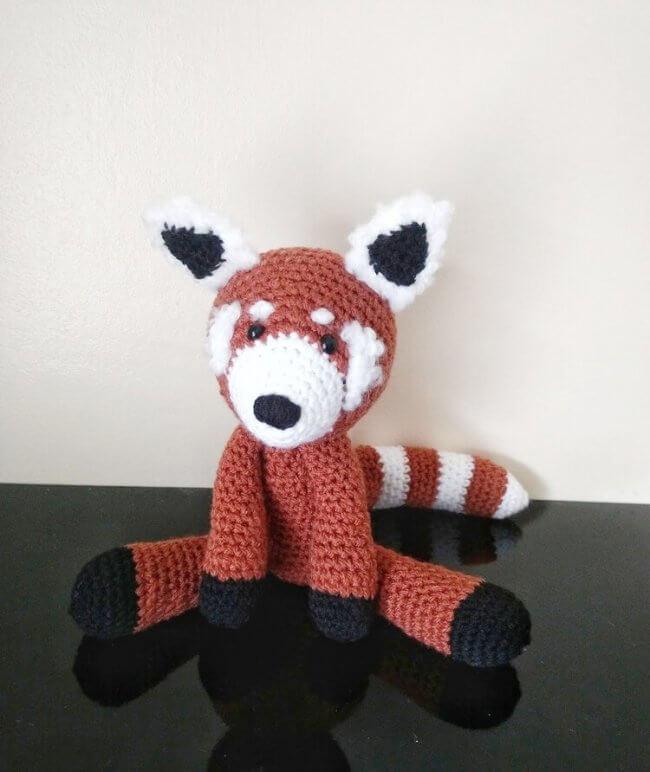 Free Baby Red Panda Amigurumi Crochet Pattern