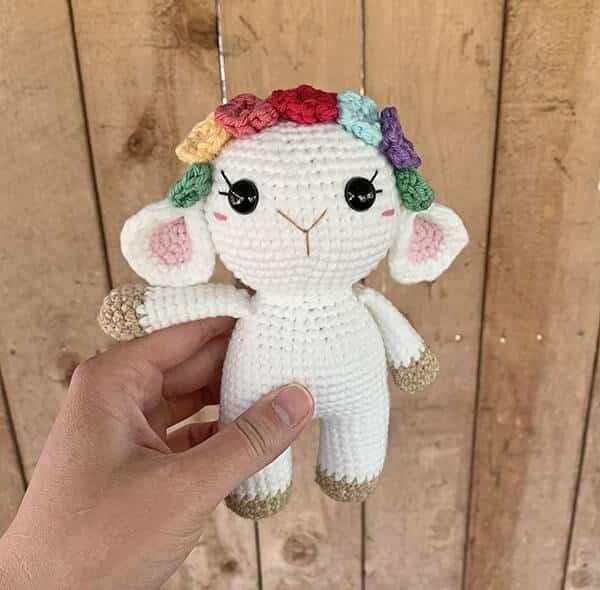 Free Mini Crochet Lamb Pattern