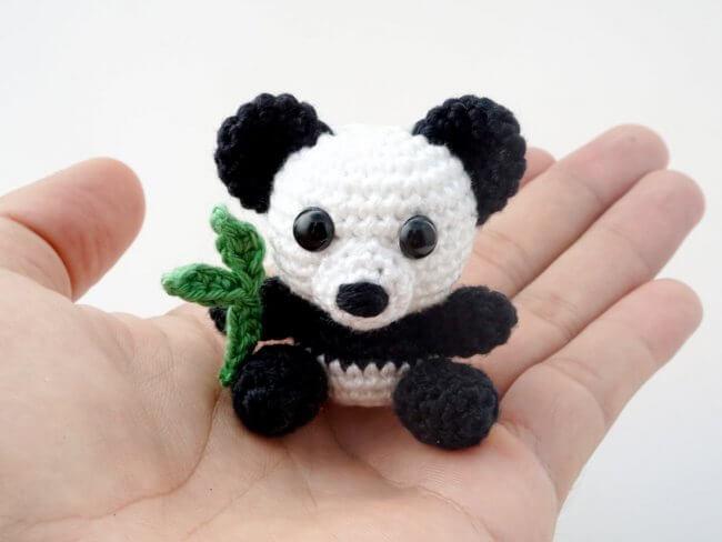 Mini Panda Crochet Pattern