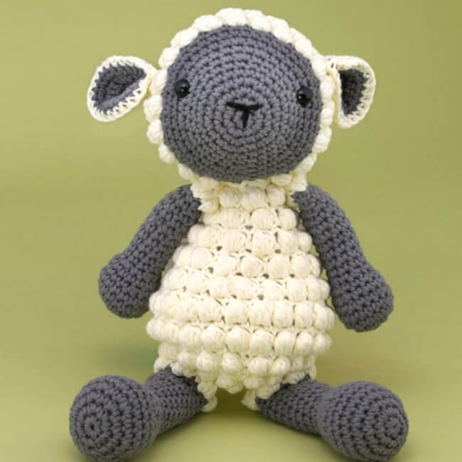 Norman The Sheep - Free Toy Crochet Pattern