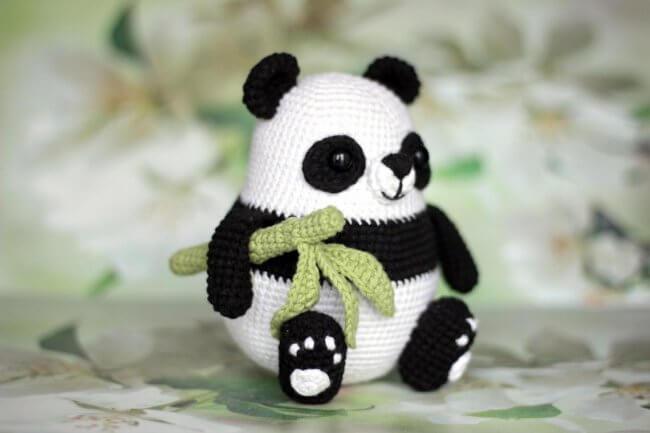 Panda Bear Crochet Pattern