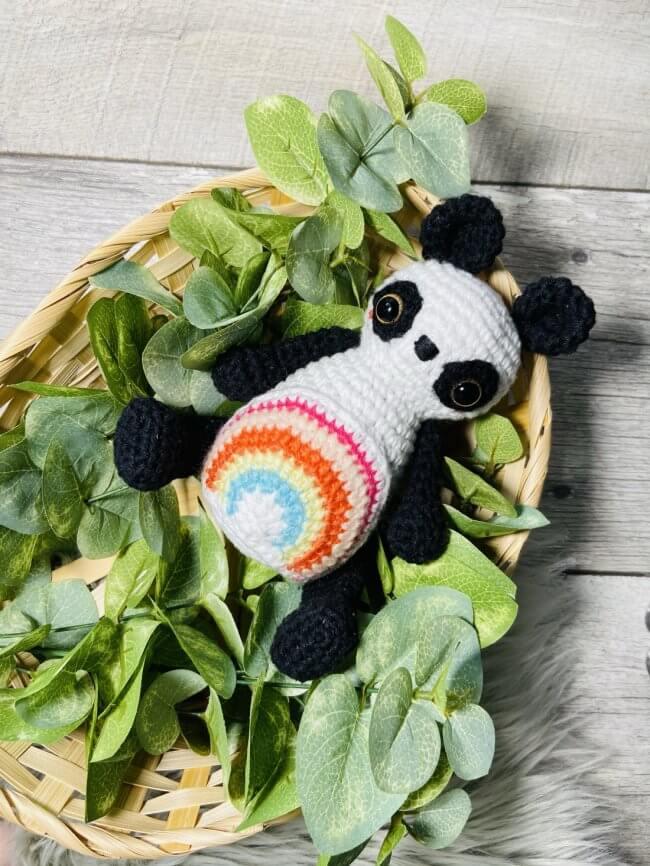 Piper: Free Crochet Panda Pattern