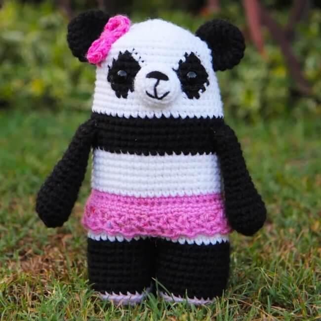 Polly the Crochet Panda