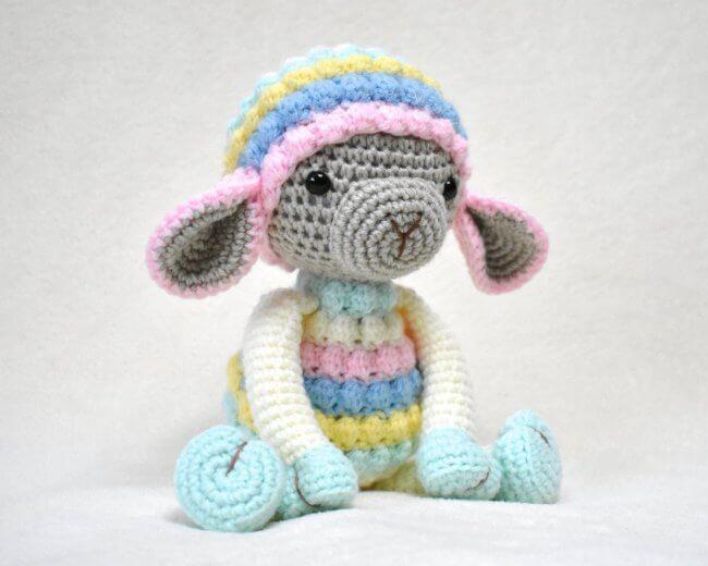 Rainbow - Crochet Lamb Pattern