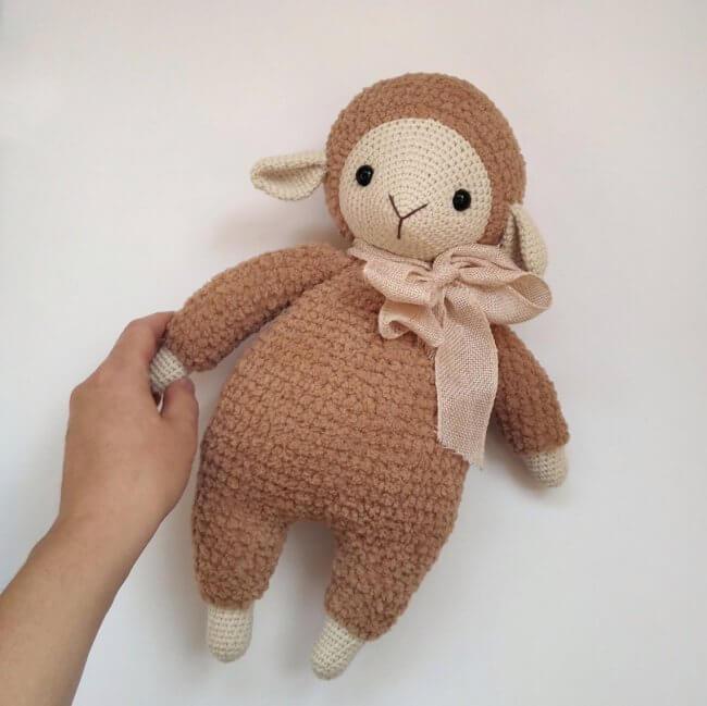 Sheep crochet pattern amigurumi lamb pattern
