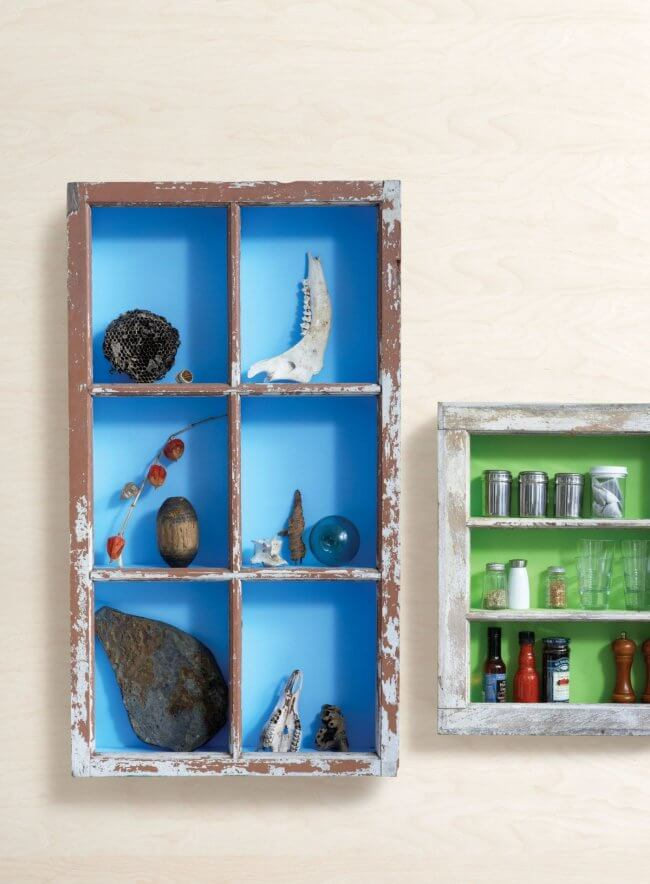 This DIY shadow box is the best cottage exhibitor