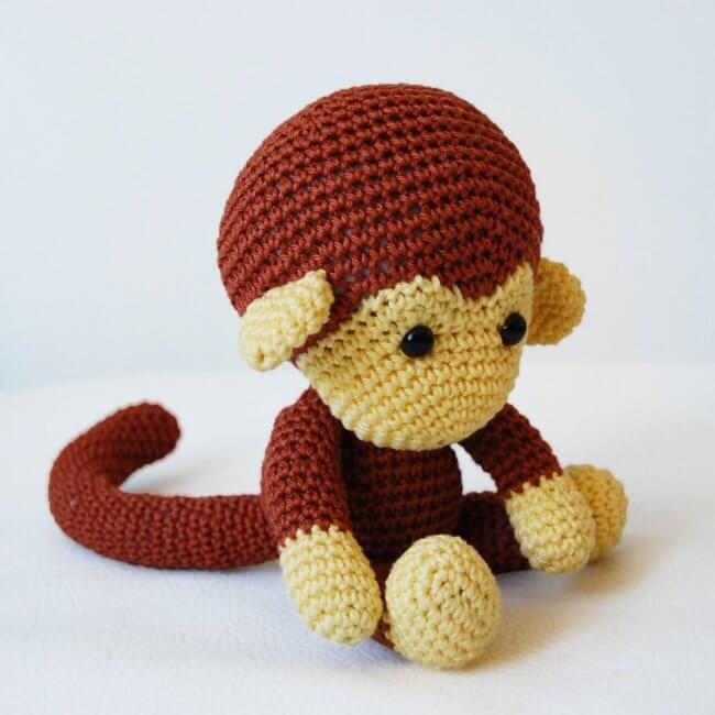 Amigurumi Crochet Monkey Pattern - Johnny the Monkey