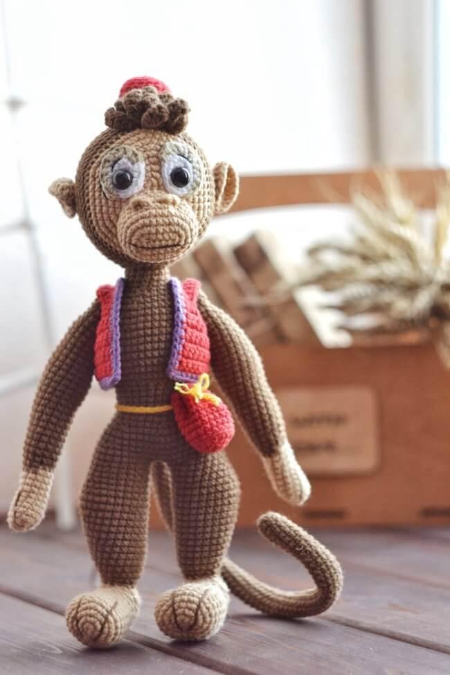 Amigurumi Crochet Toy The Monkey