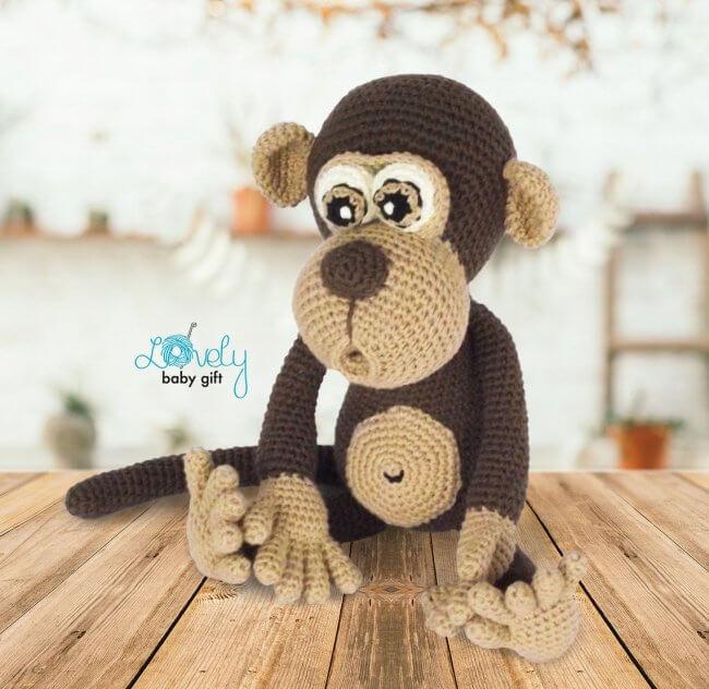 Amigurumi Pattern, Monkey Crochet Pattern
