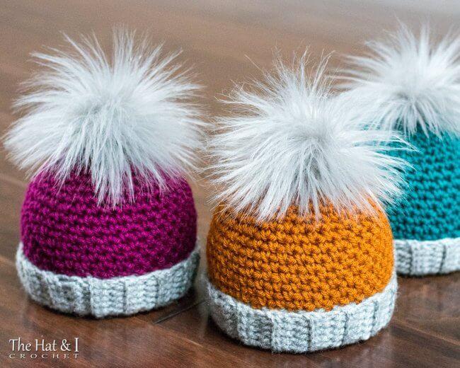 Back 2 Basics Beanie - crochet pattern