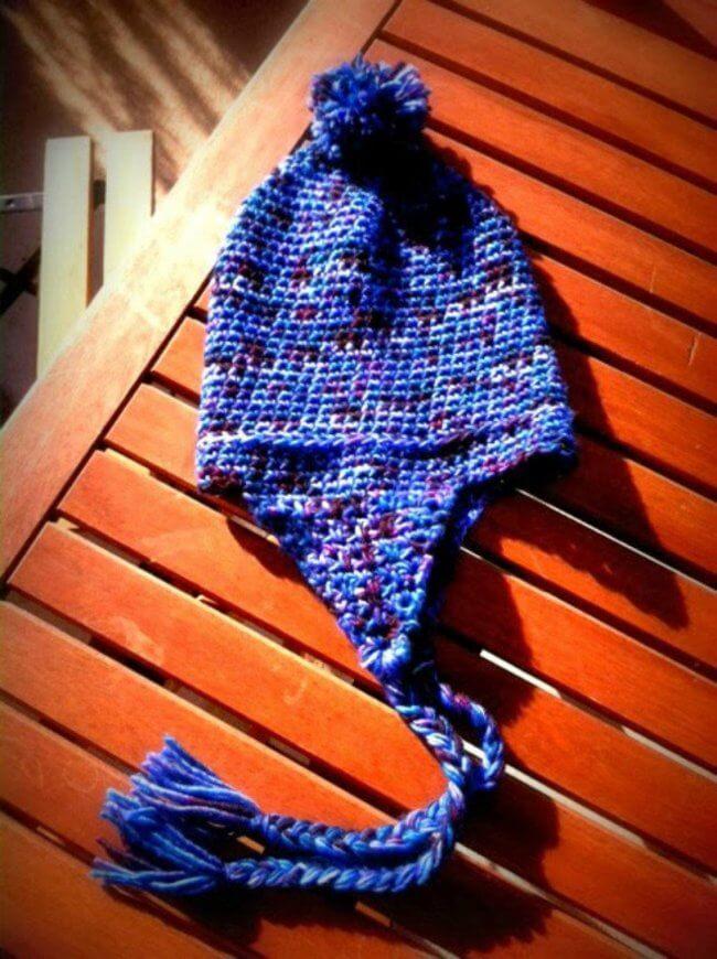 Best Crochet Toddler Hat (Free Earflap Hat Pattern)