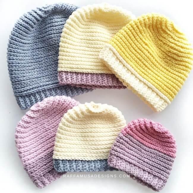 Crochet A Sweet Baby Hat For Newborns