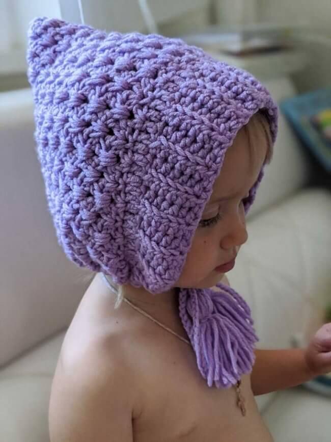 Crochet Baby / Infant Pixie Hat Pattern