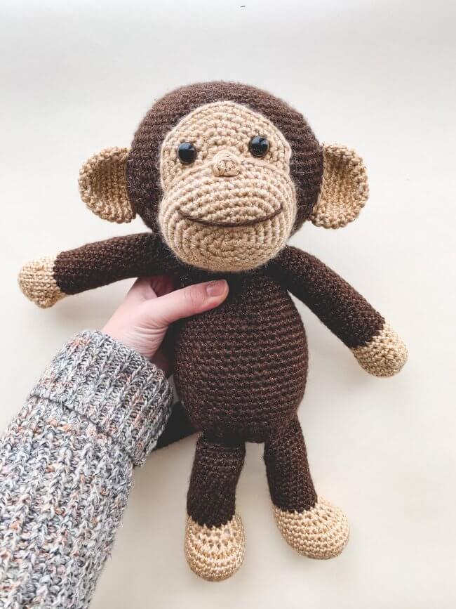 Crochet Happy Monkey