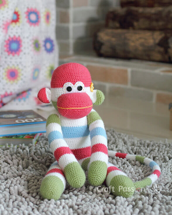 Crochet Monkey Amigurumi Pattern