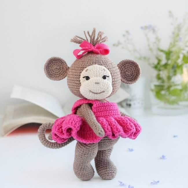Crochet pattern Monkey