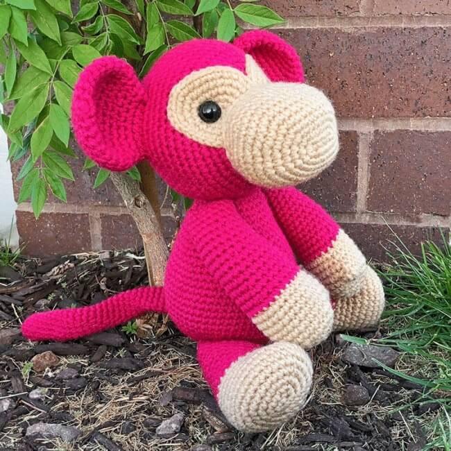 Mimi the Monkey Free Amigurumi Pattern