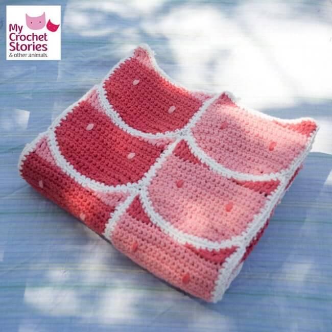 Cat Crochet Baby Blanket Pattern