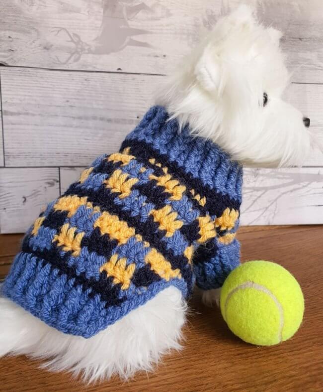 Cosy Crochet Dog Sweater