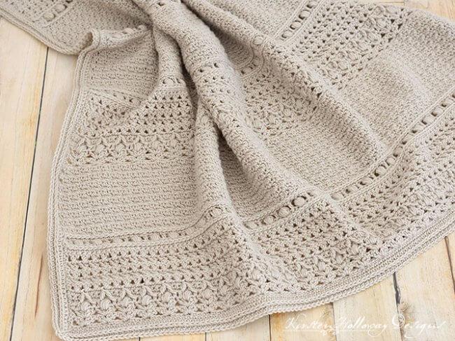 Crochet a Classic Baby Blanket