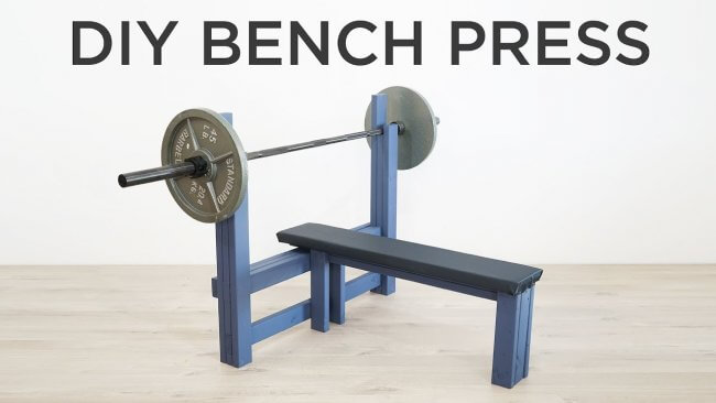 DIY Bench Press | How to make a weight bench