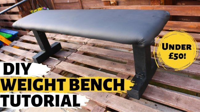 How To Make A Weight Bench Tutorial, Diy Bench Press, Home Gym, For Beginners