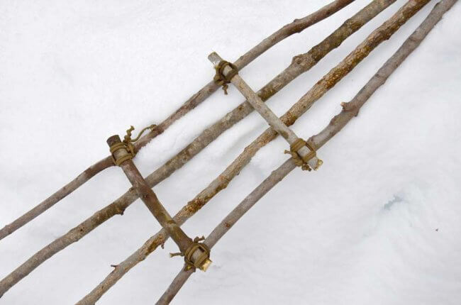 How to Avoid Hypothermia and Build Emergency Snowshoes