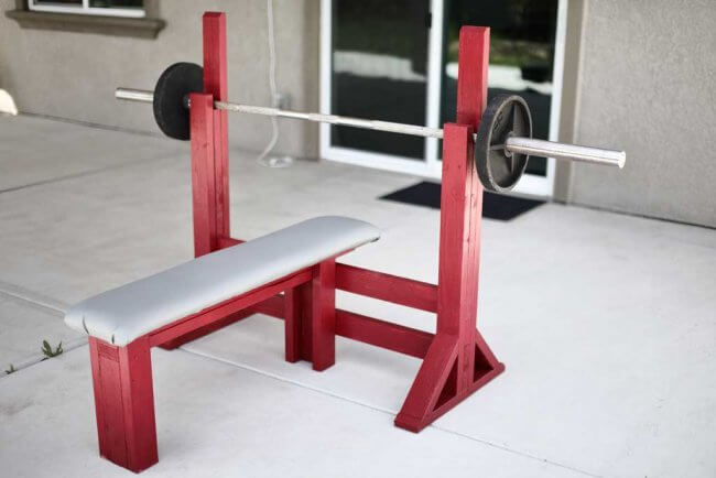 How to Build a DIY Workout Bench Press