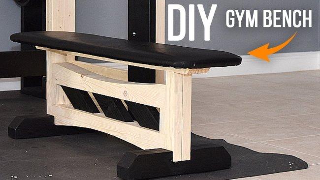 How to build a GYM Bench - Homemade GYM