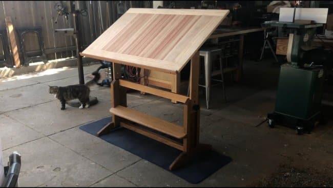Old School Drafting Table