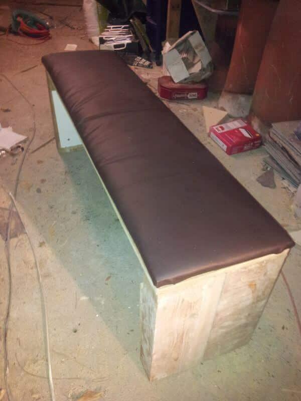 Super strong homemade weights bench