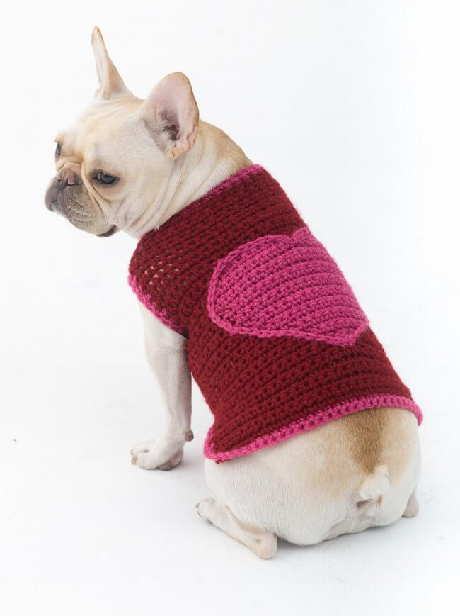 The Romantic Dog Sweater Pattern